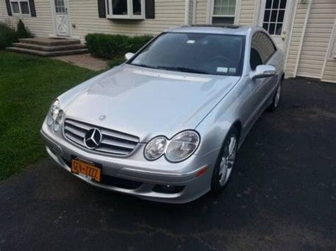 car owners manuals for sale 2006 mercedes benz cl class user handbook sell used 2006 mercedes clk 350 in walden new york united states for us 18 000 00