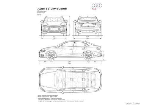 Audi S3 Dimensions by 2017 Audi S3 Sedan Dimensions Hd Wallpaper 20