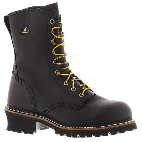 golden retriever logger boots golden retriever waterproof steel toe logger s boot ebay