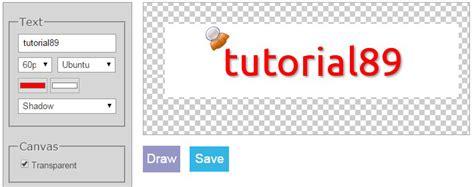 membuat logo tulisan online cara membuat logo keren secara online gratis tutorial89