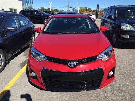 toyota inventory new 2016 toyota corolla 4 door sedan s cvti s for sale in