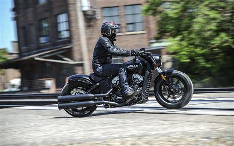 Chopper Motorradbekleidung by Herunterladen Hintergrundbild 4k Indian Scout Bobber