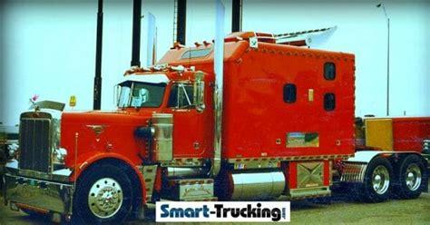 big truck sleepers     trucking industry