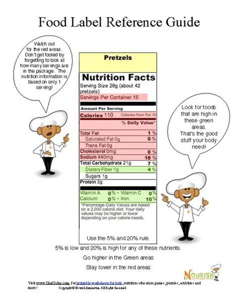 printable nutrition labels nutrition facts label worksheet free worksheets library