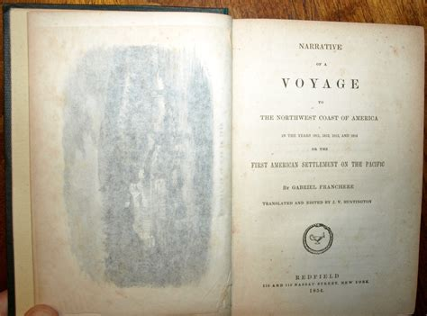 narrative of a voyage to the northwest coast of america in the years 1811 1812 1813 and 1814 or the american settlement on the pacific classic reprint books narrative of a voyage to the northwest coast of america in