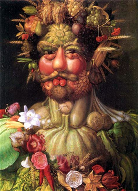 Vanité Arcimboldo by Literal Optical Illusions Das Webquest