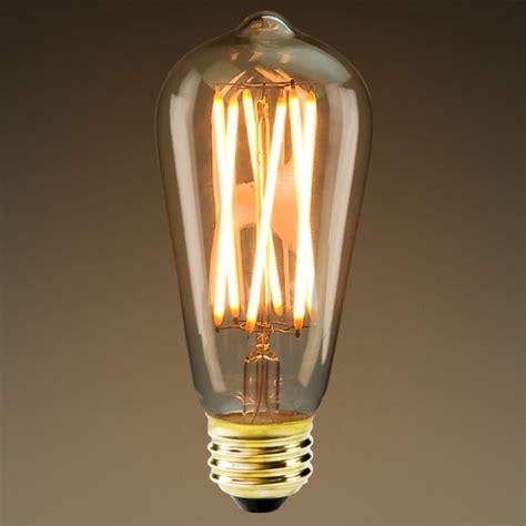 edison led bulb led edison bulb 6w 40w equal 2200k plt kst58n 6l s go 22k