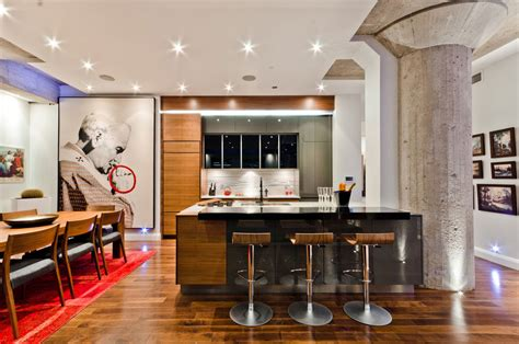 kitchen design montreal loft design in old montreal loft design