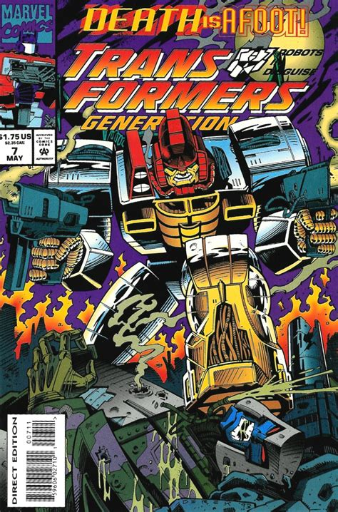 generation volume 1 books transformers generation 2 vol 1 7 marvel comics database