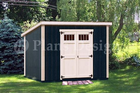 classic deluxe modern storage shed plans design