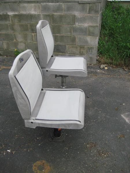 boat seat pedestal canada pair of swivel boat seats on pedestals classifieds buy