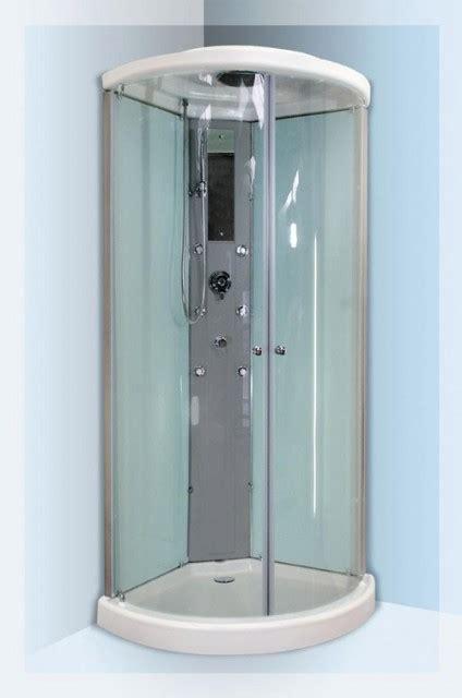 piatto doccia 85x85 cabina doccia idromassaggio angolare semicircolare mod