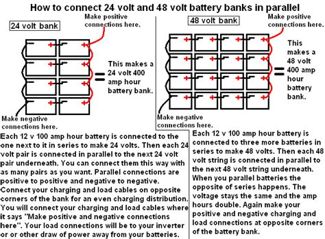 48 volt battery bank wiring diagram get free image about