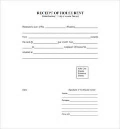 house rent under which section of income tax rent receipt template 9 free word excel pdf format