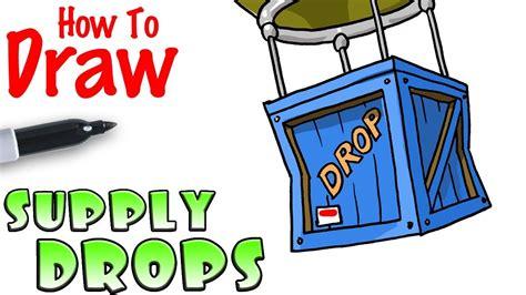 draw  supply drop fortnite youtube