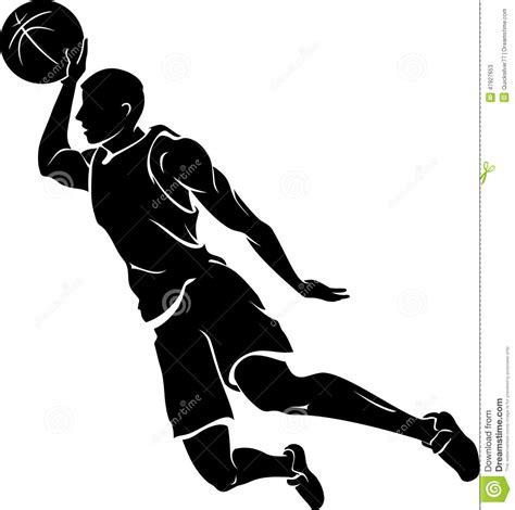 Bathtub Basketball Hoop Slam Dunk Silhouette Stock Illustration Image Of Flying