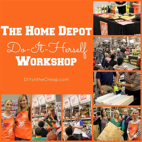 Home Depot Workshops by The Home Depot Do It Herself Workshop Monogram Wreath Tutorial Erin Spain