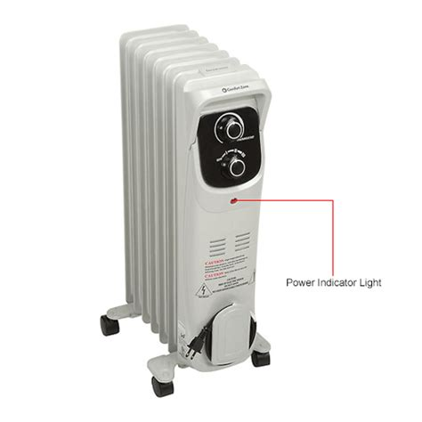 comfort zone oil filled radiator heater heaters portable electric comfort zone 174 heater deluxe