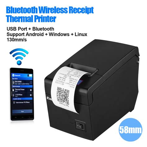 Usb Effect Android portable bluetooth 58mm thermal dot receipt printer for