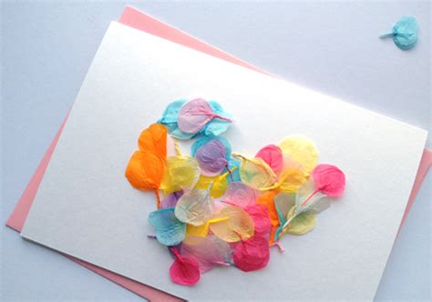 Card Decoration by Craft Tutorials Galore At Crafter Holic Petal Card