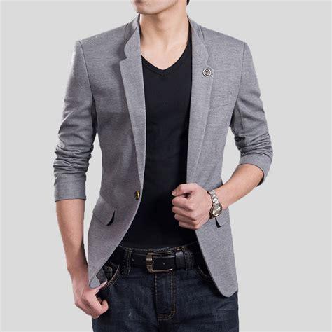Post Navigation - fashion suits for men blazer casual suit mens slim male blazers men coat spring autumn