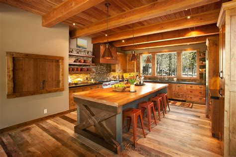 Wonderful Rustic Kitchen Island Decorating Ideas Gallery Rustic Kitchen Island Ideas