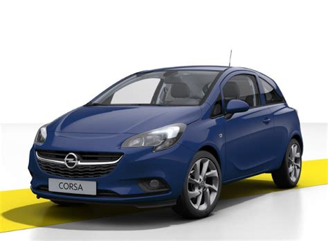 opel blue opel corsa v 2018 couleurs colors