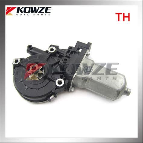 Regulator Window Fr lh fr door power window regulator motor for mitsubishi triton l200 sport ka4t ka5t kg4w kh4w