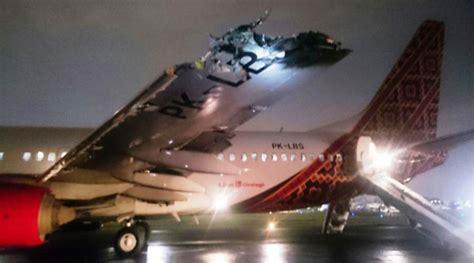 batik air faq insiden tabrakan batik air dengan transnusa di runway