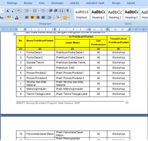 cara membuat halaman di word agar urut cara membuat tabel agar judul tabel menyambung ke halaman