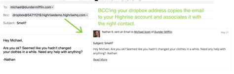dropbox email use your dropbox address manually