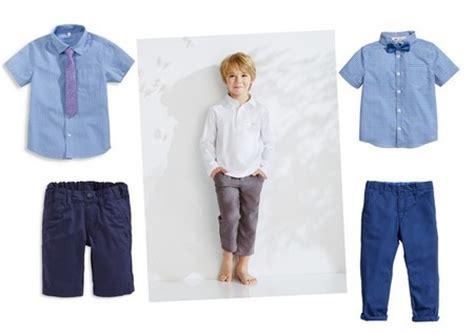 camisas para nino con corbata moda primavera verano 2014 para beb 233 s y ni 241 os prendas low