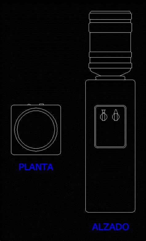 water dispenser  autocad  cad   kb