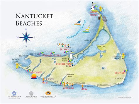 nantucket map image gallery nantucket map
