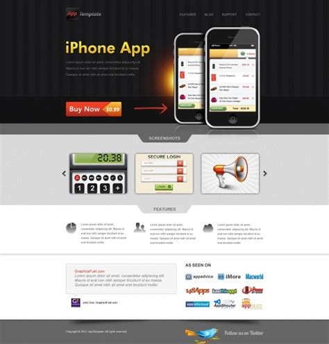 free home design app for iphone iphone app website psd template millions vectors stock photos hd pictures psd icons