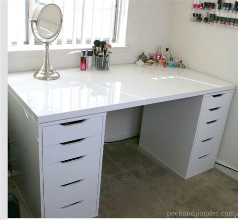 ikea up 17 best images about vanity on malm dressing table ikea and drawer unit