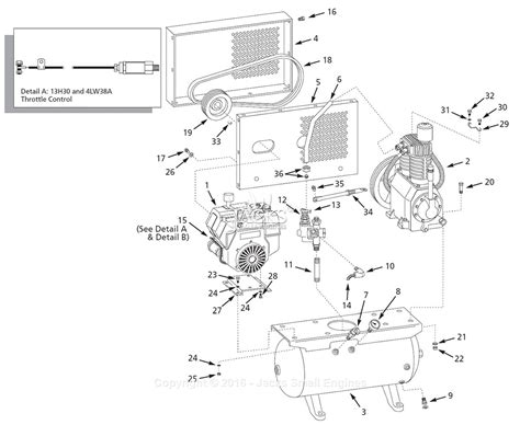 cbell hausfeld 13h30 parts diagram for air compressor parts