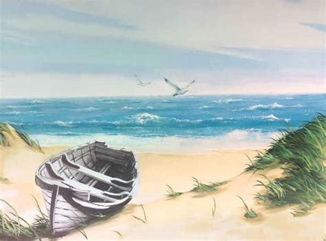 Wall Murals Superstore Boat Wall Mural 8 092