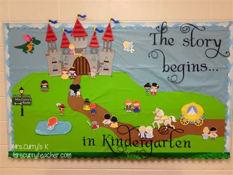 story book themes for preschool fairy tale bulletin board thanks to lettering delight s