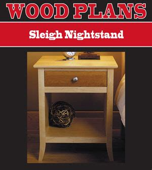 woodworking plans night stand   build  easy diy