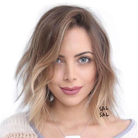 hairsyles to make an oval face younger best hairstyles for oval faces yishifashion