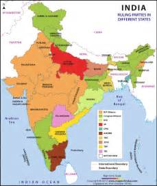 India Map States by Kochi And Consciousness Huffpost