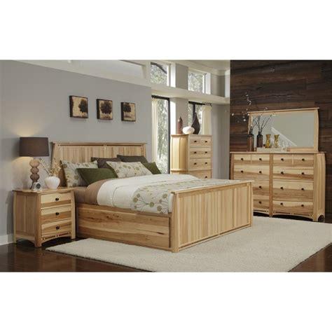 america adamstown  piece queen storage bedroom set  natural adants