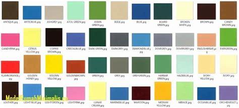 populer  katalog warna cat