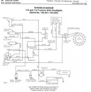 deere 110 garden tractor wiring diagram wiring diagram website