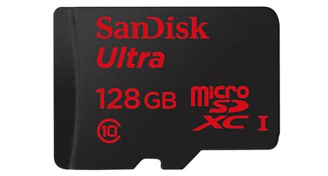 Micro Sd 128gb sandisk launches a 128gb micro sd card techfaster