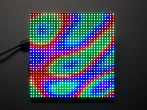 32x32 rgb led matrix panel 6mm pitch pi supply