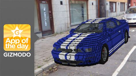 minecraft car real minecraft reality drop minecraft creations into real life