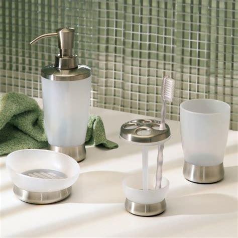 interdesign bathroom accessories interdesign bath countertop accessory set soap dispenser