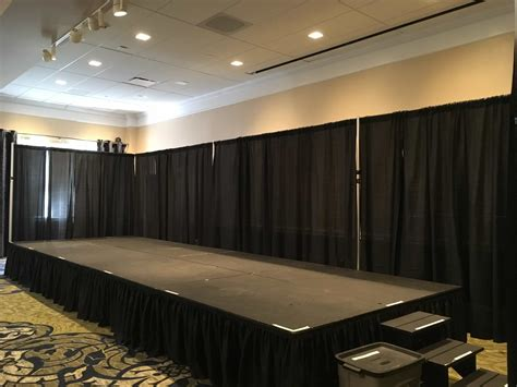 drape and pipe rental portable stage rentals in nj cmt sound systems
